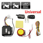 Motorcycle 2way Security Alarm System Anti-theft Remote Control Engine Start Kit