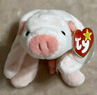 SQUEALER RARE Retired Ty Beanie Baby with Errors