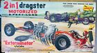 Pre-Owned Paul Lindberg The Exterminator 2-1 Dragster 1:8 Scale Model Car- AS IS