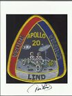 APOLLO 20 ASTRONAUT DON LIND AUTOGRAPHHAND SIGNED