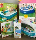 NEW Intex Sunsquad INFLATABLE ABOVE GROUND SWIMMING POOL Family Children 10ft