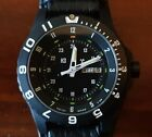 Traser H3 Type 6 P6600 Tactical Military Watch on Tawatec Black Leather Bund