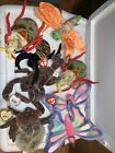 Lot Of 8 Ty Beanie Babies Insects Spinner Hairy Flitter Glow Scurry New