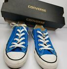 Converse Sneakers Turquoise Unisex Men 4 Women 6