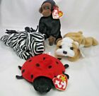 Ty Wrinkles Lucky Congo Ziggy The Beanie Babies Original Collection