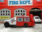 MATCHBOX FIRE FORD F 150 HEAVY RESCUE OPERATIONS WITH WORKING LYFT  FLOODLIGHTS