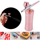 Portable Airbrush Kit Spray Pump Gun 04mm Dual Action Air Brush Compressor Set