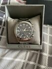 guess waterpro mens watch Stainless Blue