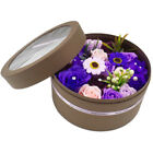 Purple Scented Rose W Gift Box Flower for Valentine Mothers Day Anniversary