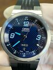 Oris Williams F1 Team Day Date Men's Blue Face Rubber 40.5mm Automatic Watch