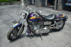 1995 Harley-Davidson Dyna  1995 HARLEY-DAVIDSON DYNA SUPER GLIDE, ONLY 245 ORIG. MILES, CUSTOM PAINT -video