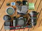 Canon EOS 5D Mark II 21.1MP Digital SLR Camera  Bundle Including Lenses
