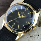 Ulysse Nardin VINTAGE 18k Gold Plated Automatic MEN'S WATCH Ca.60's IMMACULATE!