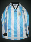 Adidas 1998 World Cup Argentina Long Sleeve Home Jersey Shirt Kit Authentic