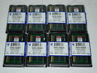 Lot of 8 NEW KINGSTON 8GB DDR3 Laptop RAM PC3L 12800S KCP3L16SD8 8 low voltage