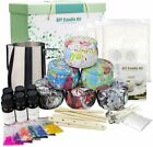 Complete Candle Making Kit Supplies Soy Wax Fragrance Oil Cotton Wicks  More