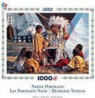 Ceaco 1000 Piece Jigsaw Puzzle Native Portraits 27x20