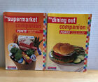 NICE WW Weight Watchers 123 Success Supermarket  Dining Out Companion Book Set
