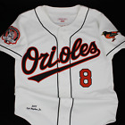Mitchell & Ness Baltimore Orioles Authentic 2001 Cal Ripken Jr Home Jersey (40)