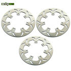 Front Rear Brake Discs Rotors for Kawasaki Z1100 GPZ1100 KZ1100 / GP 1981 82 83