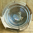 Fire-King Sapphire Blue Glass Mixing Bowl Set Vintage New Old MINT NOS Set of 3