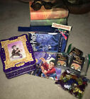 LARGE Lot Harry Potter Books Lunch Box Tin Stones Trading Cards And Much More