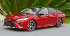 Dealer Edition 2018 Toyota Camry XSE SE 8th Generation 1 18 Scale Model Car RED