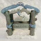 Snow Buddies Nativity Christmas Pageant Stable Building Only Rare SnowVille