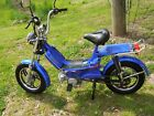 50 cc Gas Powered Moped Blue Color Metro Rider Brand New in A Box