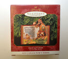1999 Hallmark Ornament David & Goliath Favorite Bible Stories 1st In Series NEW