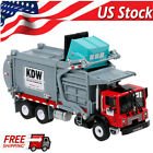 KDW 124 Diecast Transporter Garbage Truck Alloy Vehicle Car Model Kid Toy Gift