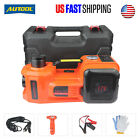 5 Ton Electric Hydraulic Jack Car Truck SUV Floor Jack Lifting Tool Portable 12V