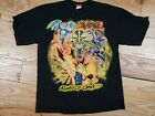 Vtg Yugioh Yami King Of Games T Shirt Youth XL16 18 Mens Small Black Anime