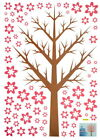 Melody Tree Large Wall Decals Stickers Appliques Home Decor