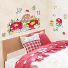 Chubby Flower Wall Decals Stickers Appliques Home Decor