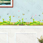 Spring Fence X Large Wall Decals Stickers Appliques Home Decor