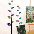 Colorful Leafs Wall Decals Stickers Appliques Home Decor