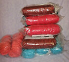 18 Skeins One Pound Mill End Acrylic Worsted Weight Yarn Total 7+ lbs Yarn NIP