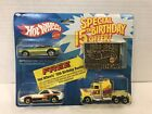 RARE VINTAGE HOT WHEELS SPECIAL15TH BIRTHDAY OFFER 3 CAR SET  BELT BUCKLE NEW