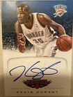 Kevin Durant 2012-13 Panini Marquee SP Autograph card #8