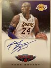 Kobe Bryant2012-13 Panini Marquee SP Autograph card #4