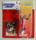 1994 CALBERT CHEANEY Washington Bullets SLU Starting LineUp figure ROOKIE moc