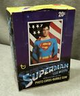 1978 TOPPS SUPERMAN THE MOVIE Opened Box Complete Including Wrappers