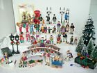 Lot 44 Victorian Christmas Village Accessories Dept 56 Lemax O'Well figures