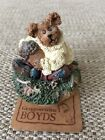 Boyds Bears Oakley.....Hug A Nut Small Candle Topper #651257-1 NWT