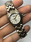 Vintage Fossil Blue Ladies Watch, AM-3109, Running w/new Battery