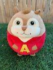 Alvin Chipmunk TY Beanie Ballz Plush Stuffed Animal Toy Ball Large 14