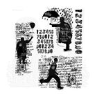 New Stampers Anonymous Tim Holtz Mounted Rubber Stamps Sideshow CMS263