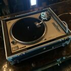 Technics sl 1200mk2 dj turntable with heavy duty flight case