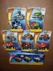 Blaze And The Monster Machines Die Cast Lot of 8 Ninja Zeg Pirate Pickle Stripes